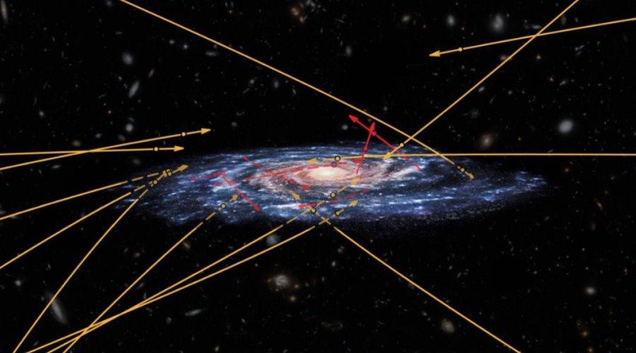 Gwiazdy pędzące w kierunku Drogi Mlecznej