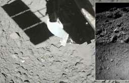 Lądowanie sondy Hayabusa 2 na asteroidzie Ryugu
