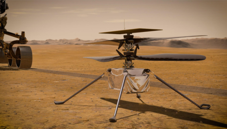 Początek historycznej misji. Marsjański dron Ingenuity zameldował gotowość do pracy