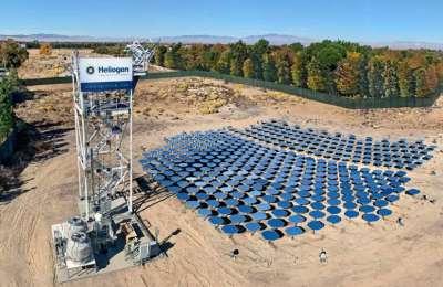 Piec solarny Heliogen