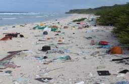 Odpadki na plaży