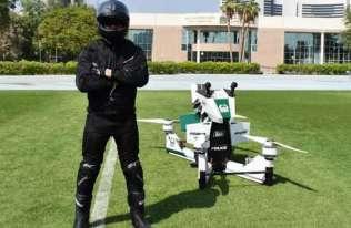 Latający motocykl Hoverbike