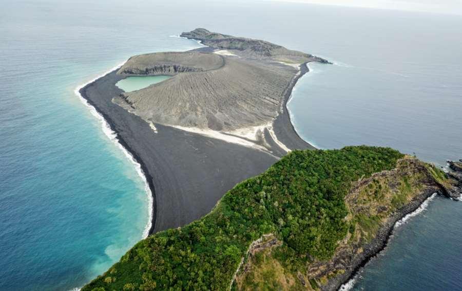 Wyspa Hunga Tonga-Hunga Ha'apai