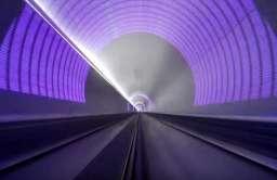 Wnętrze tunelu Hyperloop
