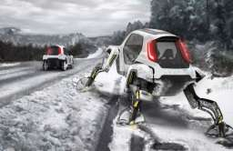 Hyundai Elevate - samochód z nogami