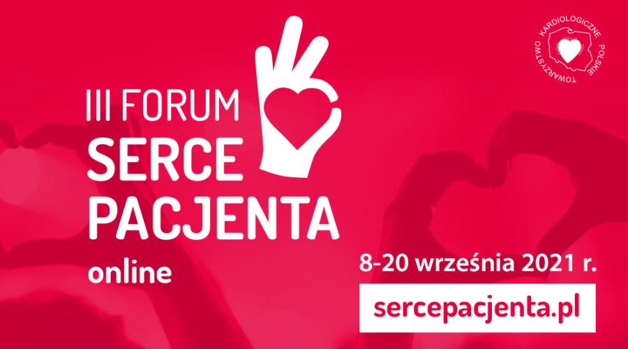 III Forum Serce Pacjenta PTK rusza już 8 września