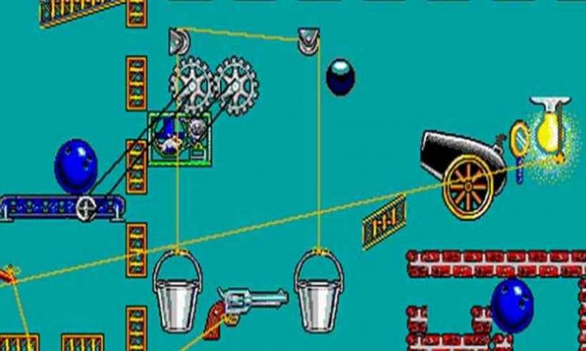Screen z gry logicznej The Incredible Machine