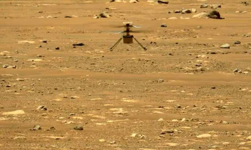 Drugi lot marsjańskiego drona Ingenuity