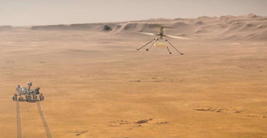Misja marsjańskiego drona Ingenuity przedłużona o miesiąc
