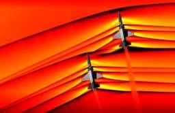 NASA pokazuje pierwsze zdjęcia interakcji naddźwiękowych fal uderzeniowych