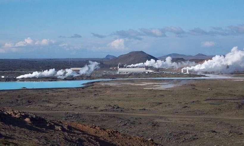Elektrownia geotermalna Reykjanes (znana też jako Reykjanesvirkjun) w Islandii