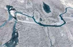 Jeziora subglacjalne na Grenlandii