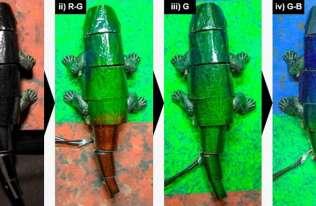 Powstał robot-kameleon, który potrafi dopasować kolory do otoczenia w czasie rzeczywistym