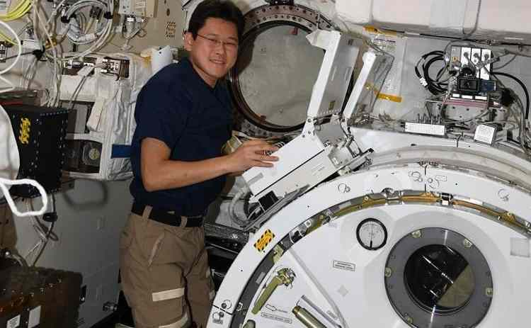 Japoński astronauta Norishige Kanai