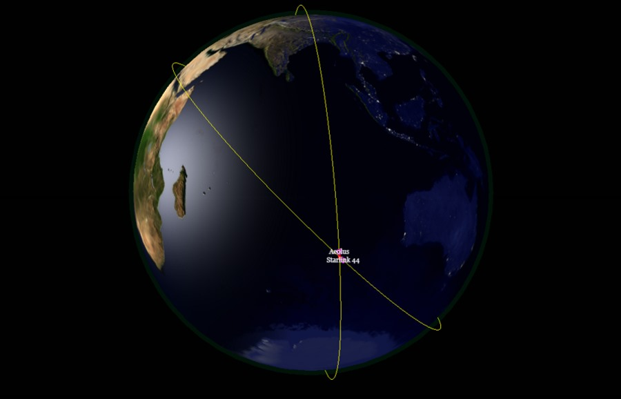 Kolizja satelitów