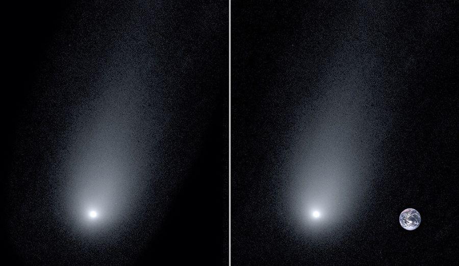 Nowe zdjęcia komety z obcego systemu planetarnego