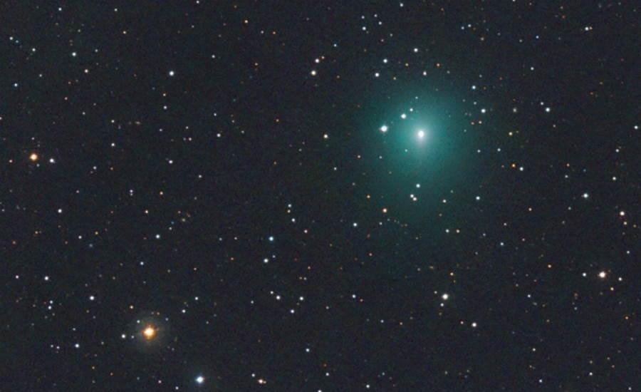 Kometa Atlas robi się coraz jaśniejsza. Zanosi się na kosmiczne widowisko