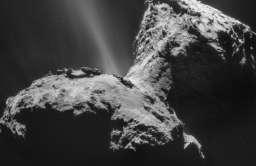 Dane z sondy Rosetta ujawniły ultrafioletową zorzę polarną wokół komety