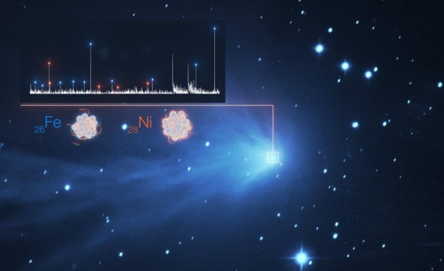 W gazowych otoczkach komet odkryto ciężkie pierwiastki. Wśród odkrywców są Polacy