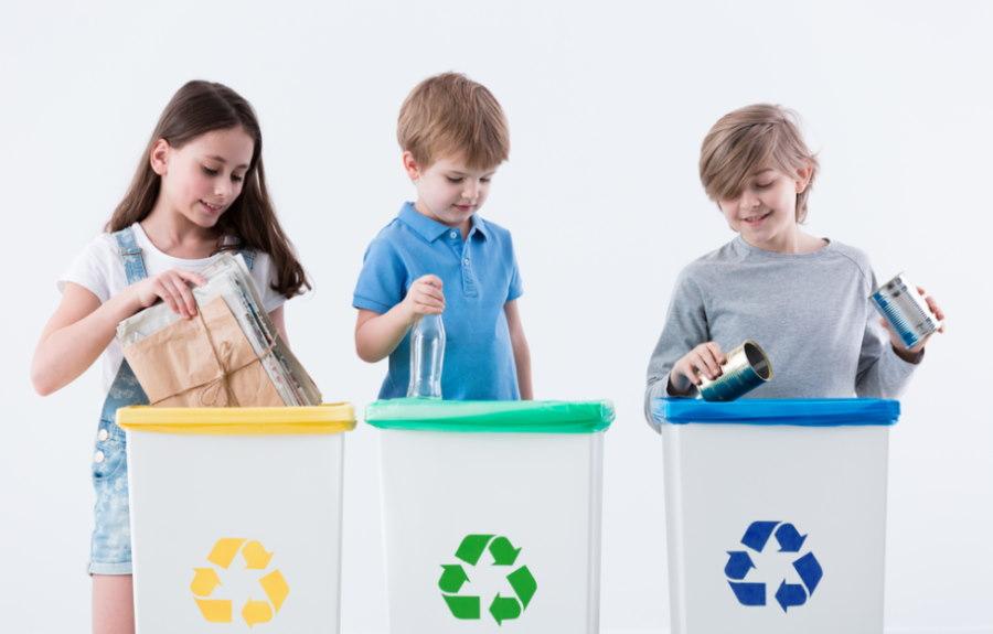 kosze do segregacji odpadów