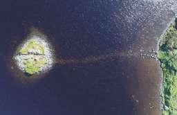 Krannogi - sztuczne wyspy