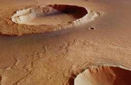 Kratery uderzeniowe na Marsie