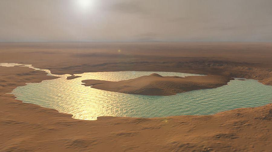 Curiosity znajduje ślady słonych jezior na Marsie