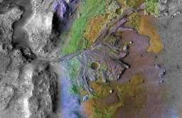 Zdjęcia łazika Perseverance potwierdzają istnienie jeziora oraz pradawne powodzie na Marsie