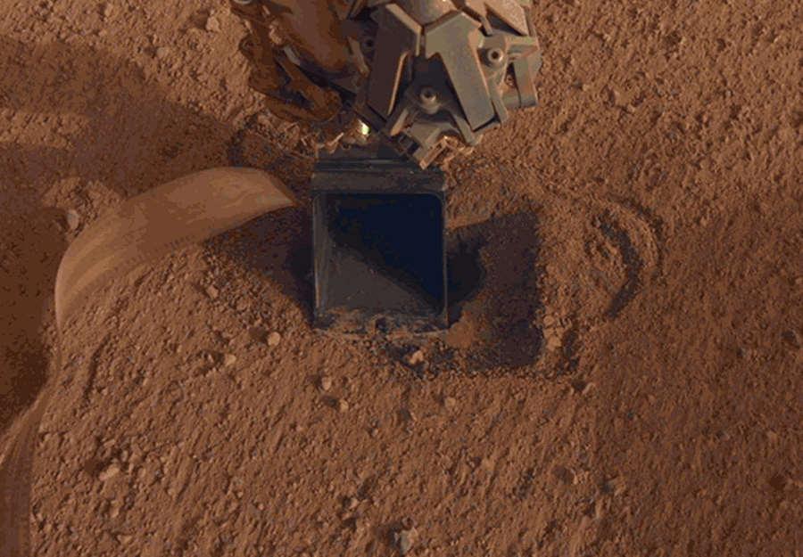 Mars InSight Kret HP3