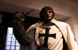 Rycerz zakonu krzyżackiego