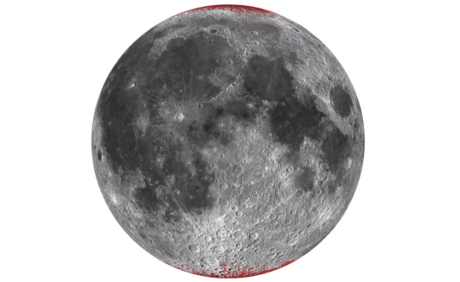 Księżyc rdzewieje. Wszystko przez tlen z ziemskiej atmosfery
