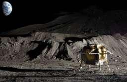 Lądownik na Księżycu