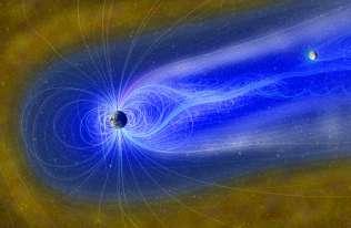 Ziemska magnetosfera może sprzyjać powstawaniu wody na powierzchni Księżyca
