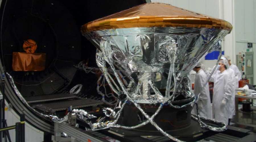 Lądownik Schiaparelli podczas testów
