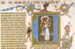 Fragment strony z Biblii Wacława IV