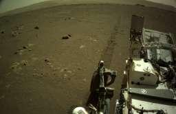 Na Ziemię dotarły pierwsze dźwięki z jazdy łazika Perseverance po powierzchni Marsa