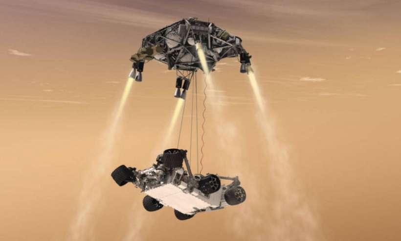 Łazik Perseverance z powodzeniem wylądował na Marsie. Przywitał się pierwszym zdjęciem