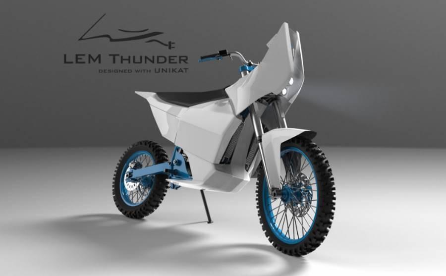 Elektryczny motocykl LEM