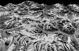 Zdjęcia z satelitów szpiegowskich pokazujące skalę topnienia himalajskich lodowców