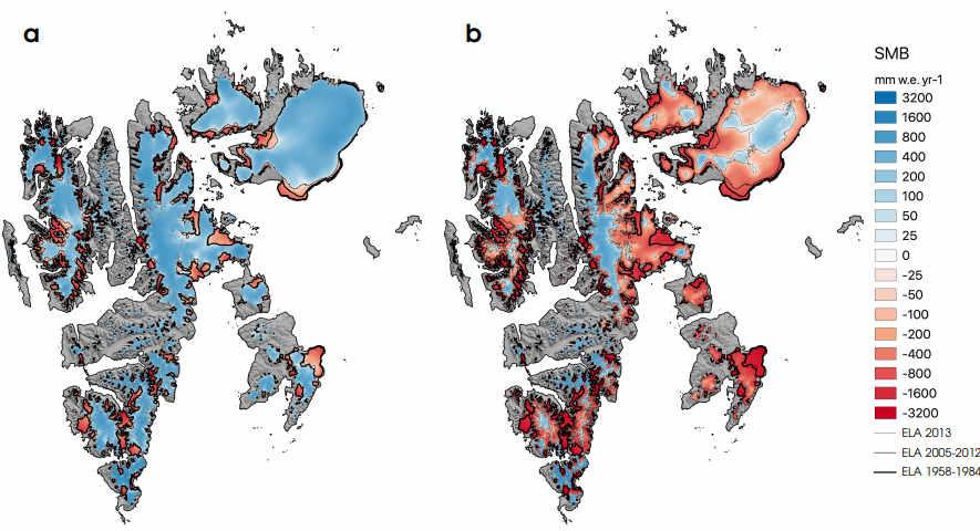 ochronna warstwa firnu pokrywającego strefę akumulacji lodowców