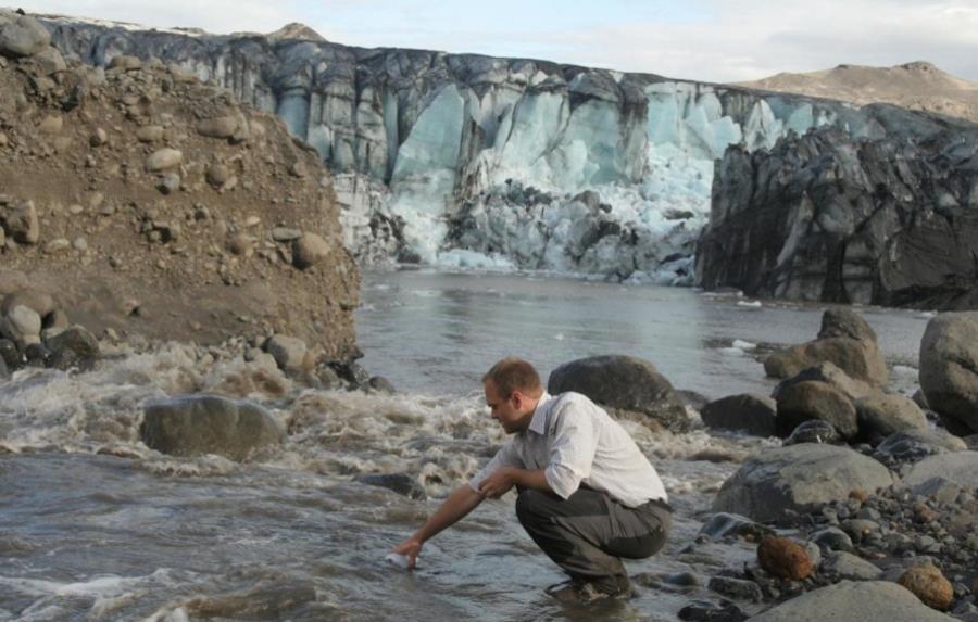 Lodowiec Sólheimajökull uwalnia metan