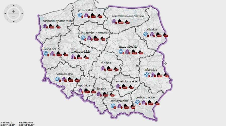 Interaktywna Mapa Polskich Zabytkow Dziennik Naukowy