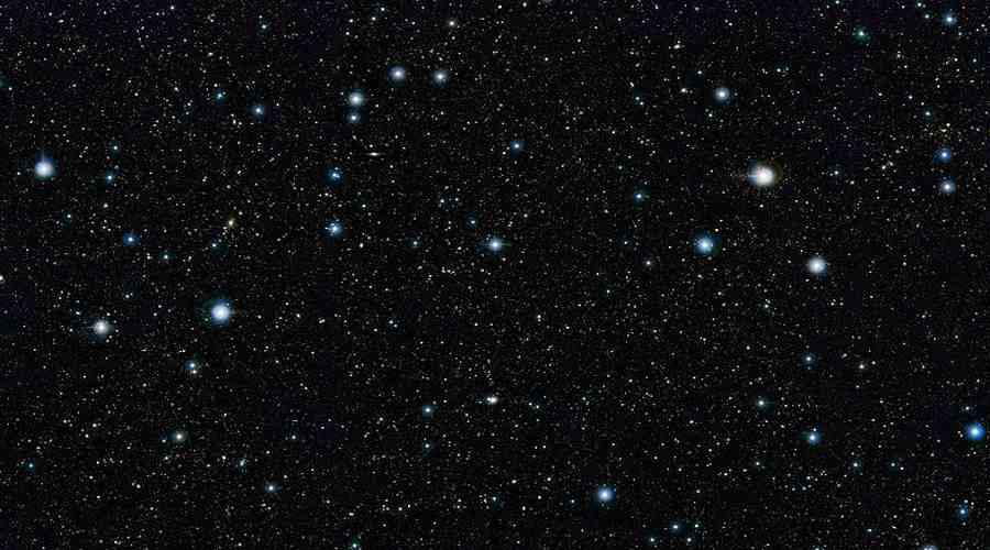 Kosmos. Przestrzeń kosmiczna usiana tysiącami gwiazd