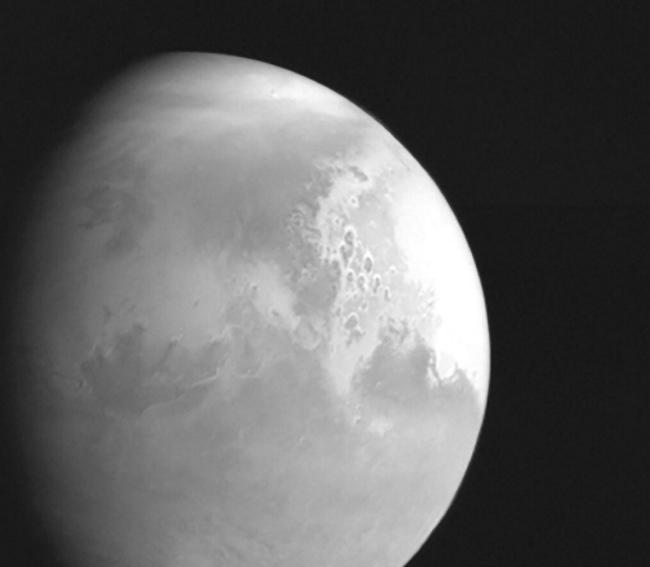 Zdjęcie Marsa wykonane przez sondę Tianwen-1