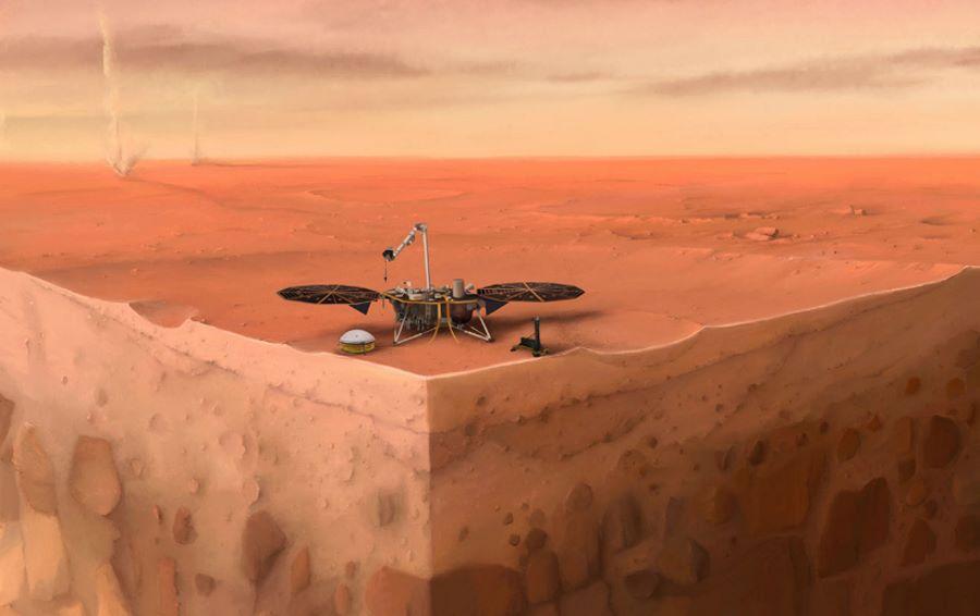 Mars jest aktywny sejsmicznie. Nowe dane z misji InSight