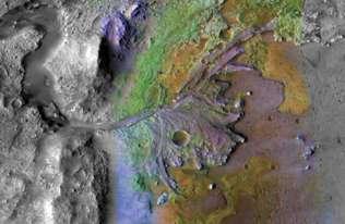 Krajobraz Marsa został wyrzeźbiony przez lodowce, nie rzeki?