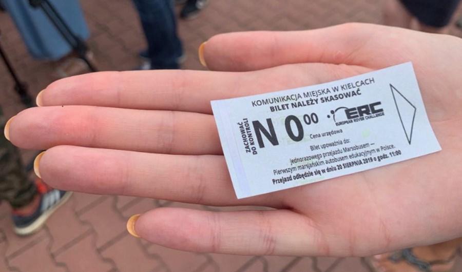 Pierwszy w Polsce Marsobus wyjechał na ulice Kielc