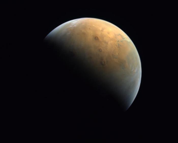 Pierwsze zdjęcie Marsa zrobione przez sondę Hope