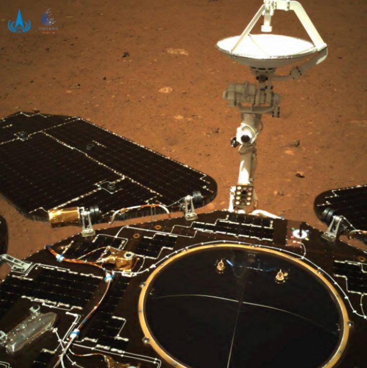 Pierwsze zdjęcia łazika Zhurong z Marsa