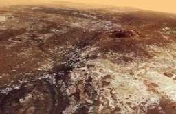 Widok na dolinę Mawrth Valais na Marsie